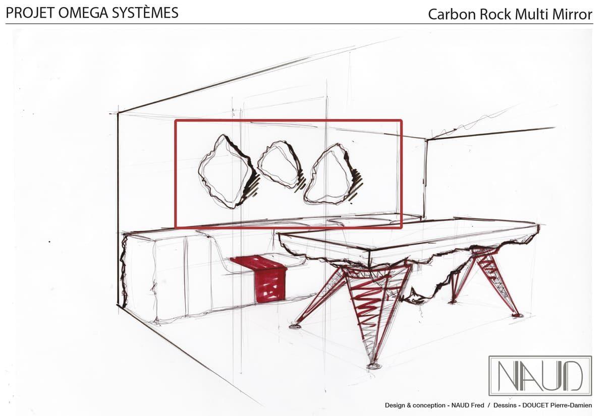Planche de dessin pour la réalisation d'une série d'oeuvres fonctionnelles, dans le cadre du projet ColeopteR
